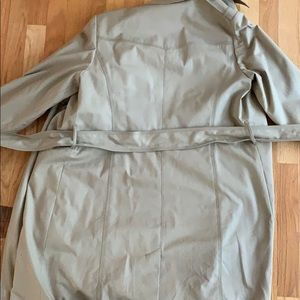 Back of trenchcoat